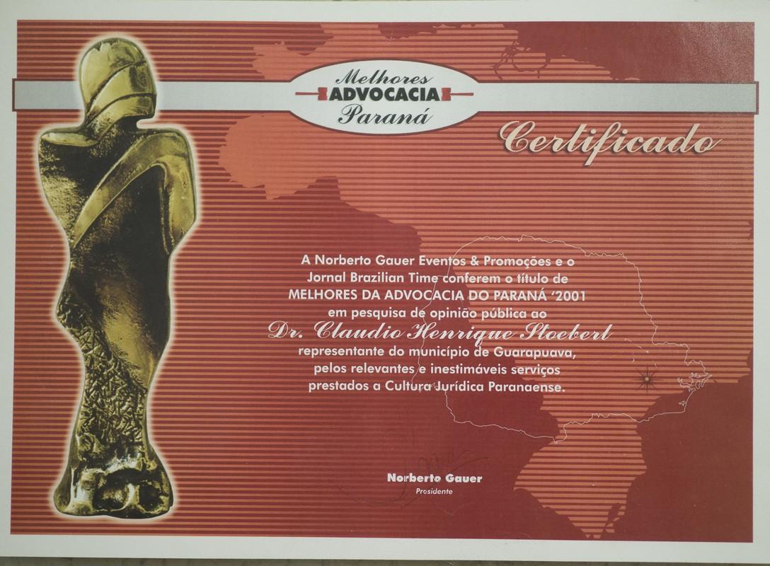 Troféu Melhores Advocacia Paraná
